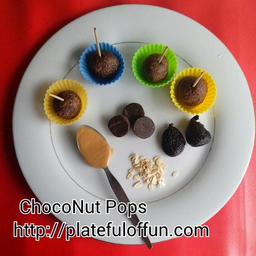 No-Bake ChocoNut Pops