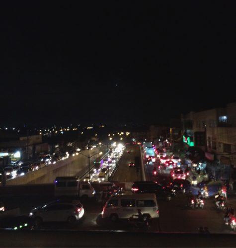 Quezon City Rush Hour Traffic